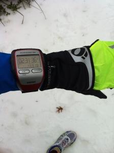 My Icy Half Marathon